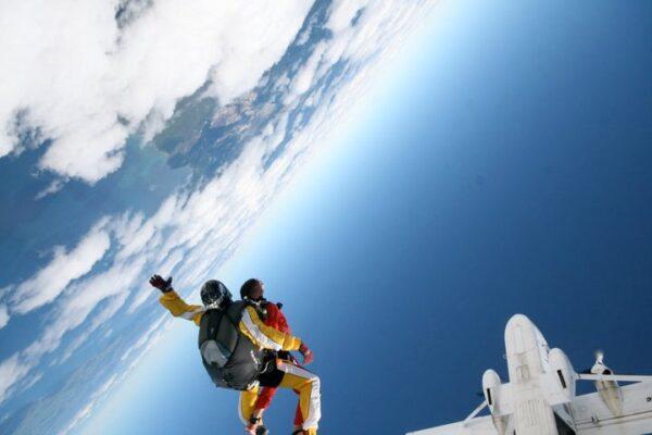 Skydiven Nieuw-Zeeland