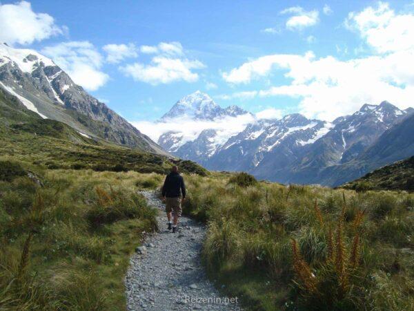 Hiken Canterbury Nieuw-Zeeland