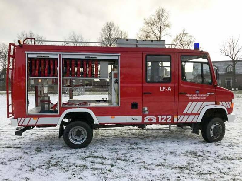 Waarom een brandweerwagen ombouwen tot camper