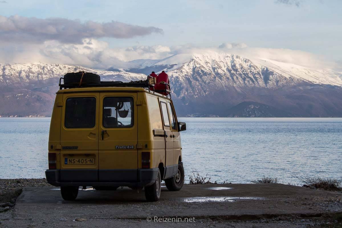 camper naar albanie