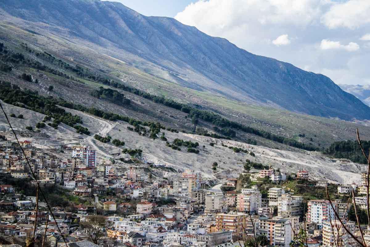 Steden Albanie