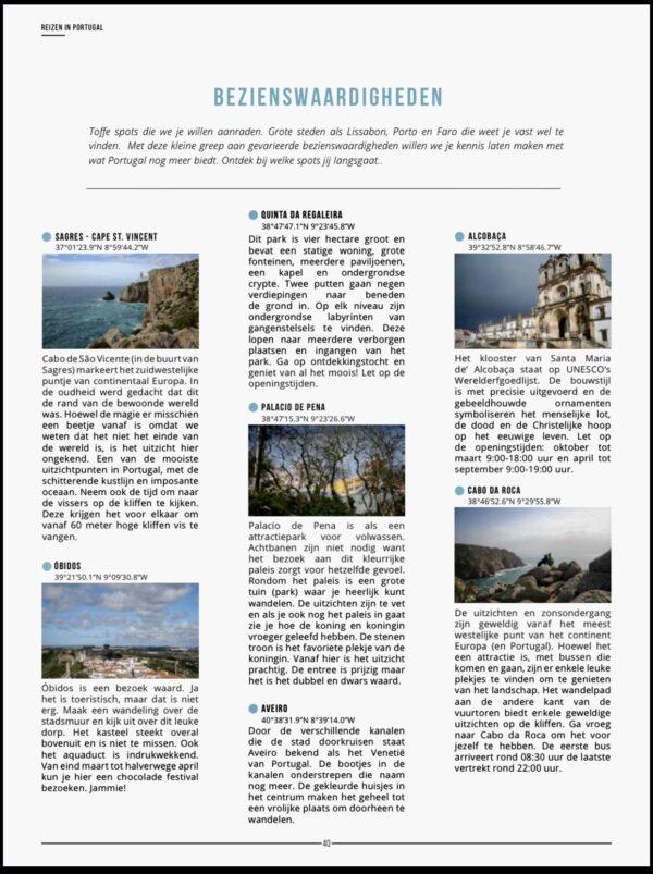 reisgids portugal bezienswaardigheden