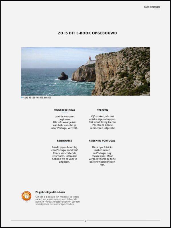 reisgids portugal opbouw